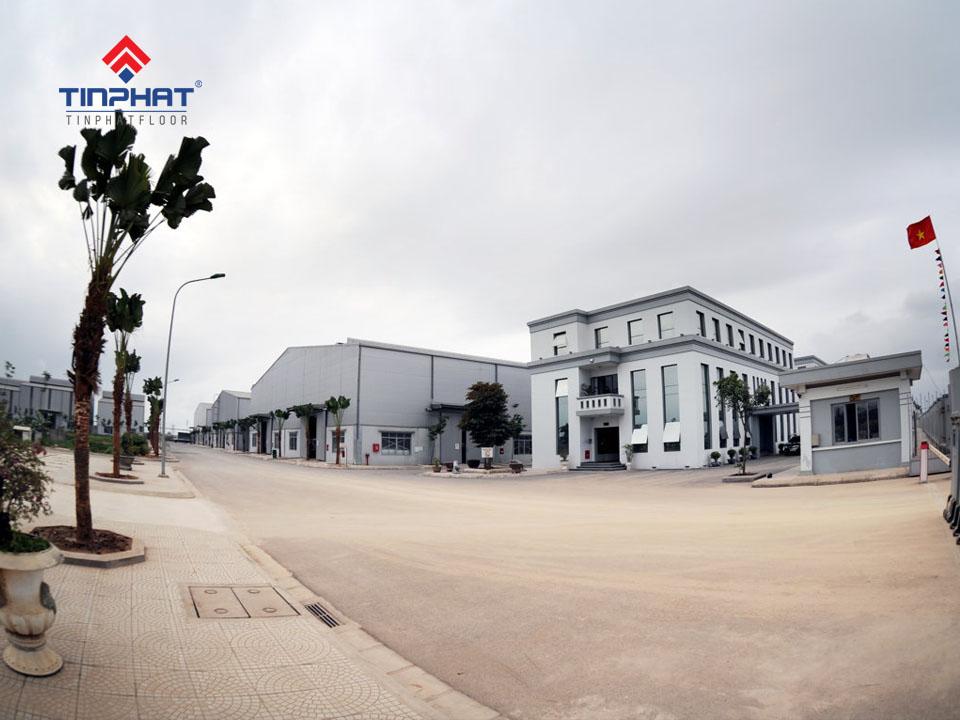 Mài bóng bê tông nhà xưởng công ty Tân Huy Hoàng 5