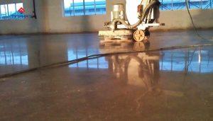 Quy trình mày bóng sàn bê tông